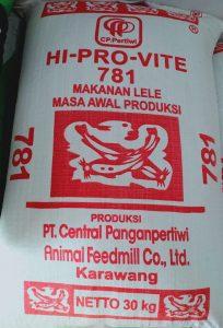 pakan ikan lele 781 CP Prima