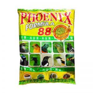 phoenix formula 88 perkutut gold kenari love bird